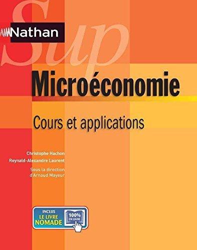 Microéconomie de Christophe Hachon (14 novembre 2012) Broché