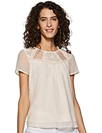 Honey by Pantaloons Women's Plain Regular fit Top