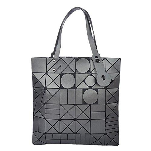 Handtaschen Geometrisch Matt Lingge Umhängetasche Art Und Weise Zufällig Damen Handtaschen Darkgray