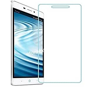 SNOOGG PACK OF 9 lyf Water 7 4G LTE Smart Phone, Gold Premium Tempered Glass Screen Protector [ 2.5D Round Edge ] [ Easy Install ] [Anti Scratch ] [ HD ] - Protect your screen from Scratches & Drops - Maximize your resale value - 100% clarity and touch Screen Accuracy