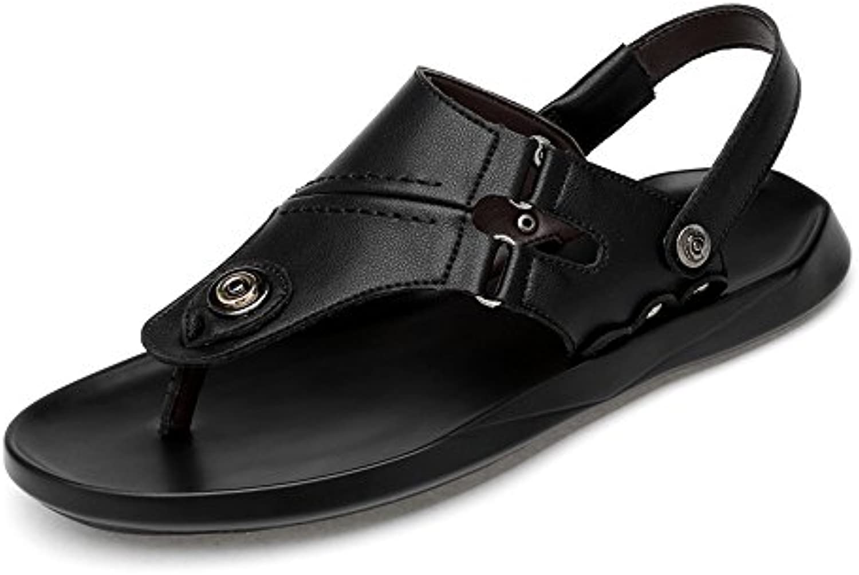 Zapatos para hombre, Chanclas clásicas ocasionales de los hombres Chancletas Zapatos de cuero de la PU Zapatillas...