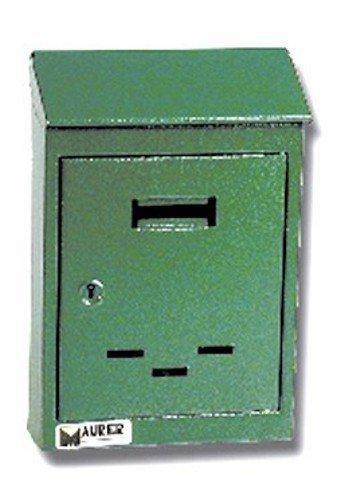 Boîte aux lettres avec toit en me tal peint beige f6712c8bd792