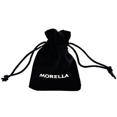 Morella® Damen Halskette Edelstahl 70 cm mit Ornament Anhänger für Klangkugeln Ø 16 mm in Schmuckbeutel - Modellauswahl