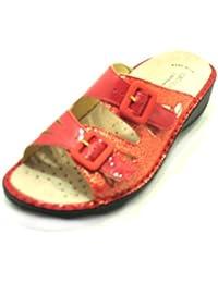 Donna Ciabatte Scarpe Da it Amazon Grünland Pantofole nYq584xwR
