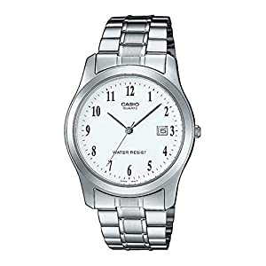 Casio Collection LTP-1141PA-7BEF, Reloj Redondo, Acero Inoxidable,  Mujer,