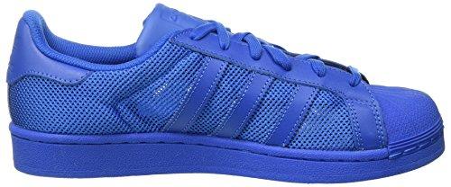 adidas Superstar, Baskets Basses Mixte Adulte Bleu (Bluebird/Bluebird/Bluebird)