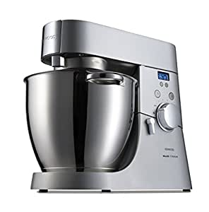 Kenwood KMM075 Chef Major Titanium Macchina Multifunzione, 1500 W