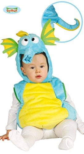 Baby Seepferdchen - Kostüm für Kinder Gr. 86 - 98, Größe:86/92