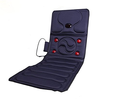 Preisvergleich Produktbild XUAN Zusammenklappbare Ganzkörper-Massage Körper Massage Matratze Multifunktions-Airbag Massage für ältere elektrische Heizung PadSize 166cm 58cm (Länge Breite) ,  blue