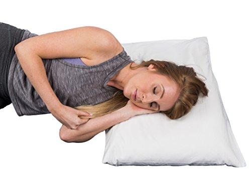 Cuscino In Grano Saraceno.Calmingbreath Cuscino Di Grano Saraceno Ideale Per Dolori Cervicali Headaches Side Sleeping Cotone Di Grano Saraceno Riempito 48 Cm X 74 Cm