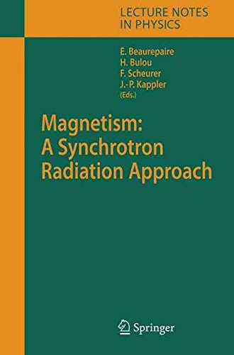 magnetism-a-synchrotron-radiation-approach-edited-by-eric-beaurepaire-published-on-august-2006