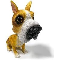 Figura de perro Cogeek, como decoración para automóvil