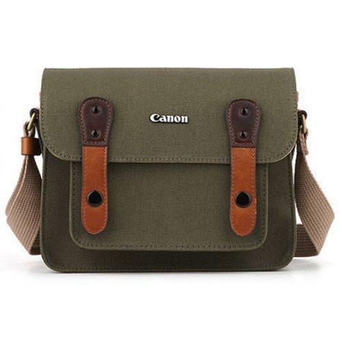 Canon Original Fischgrätenmuster Kamera Schulter Tasche kleine Größe Tasche Nr. 6520Für EOS 100D Rebel SL1