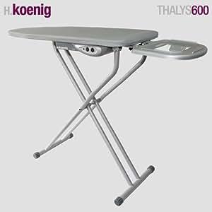 H koenig halys600 table repasser active 400 w - Table de repassage active ...