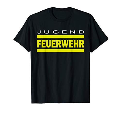 Feuer-jugend-t-shirt (Jugend Feuerwehr T-Shirt für Kinder und Jugendliche)