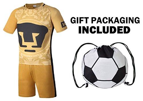 Fan Kitbag Puma Home Herren Fußball Trikot & Shorts Erwachsene Premium Geschenk Kitbag ✮ Bonus Geschenk Fußball Rucksack, Large -