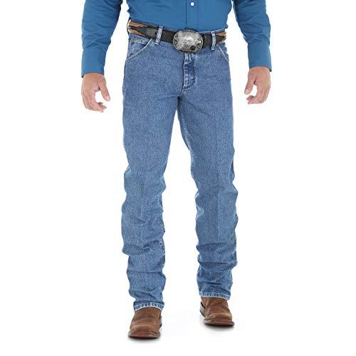 Wrangler Herren Jeanshose im Cowboy-Schnitt Regular Fit - Blau - 32W / 32L -
