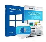 Original Microsoft® Windows 8.1 Lizenzschlüssel + Lizenza ISO CD / DVD für 32 und 64 bit Deutsch inklusive Workstation 2016 für Office