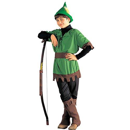 Robin Hood Kostüm König der Diebe Kinderkostüm 158 cm 11-13 Jahre Mittelalterkostüm Räuber Waldläufer Räuberkostüm Kinder Mittelalter Helden Märchenkostüm Disney Märchen Faschingskostüm Karnevalskostüme ()