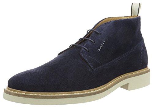 Gant - Parker, Stivali e stivaletti Desert, corti Uomo, Blue (marine), 42