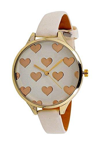 Scarter Sales Analog White Dial Women's Watch - G009