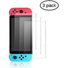 Bestico Protector de Pantalla para Nintendo Switch,HD PET Film Protector de Pantalla Screen Protector para (3 paquetes)