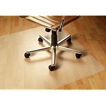 Floordirekt PP - 8 Größen zur Wahl - Budget Bodenschutzmatte semitransparent mit TÜV für Hartböden (90 cm x 120 cm)