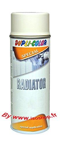 Pittura spray ad alta temperatura, per termosifoni, bianco opaco, confezione da 3, 400 ml - MOTIP DUPLI ITALIA 401244