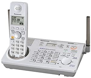 Panasonic Digital Gigrange-KX-TG5771BX Expandable Digital Cordless Answering System-Silver