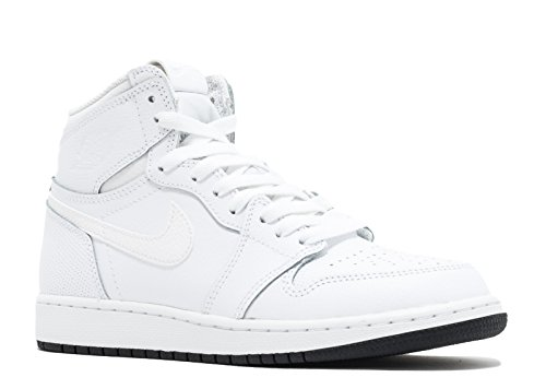Nike - Air Jordan 1 Retro Haute Og Bg - 575.441.100 - Couleur: Blanco-negro - Taille: 36.5 meilleur endroit excellente en ligne Mastercard Footaction rabais vente Footlocker 5yqbS