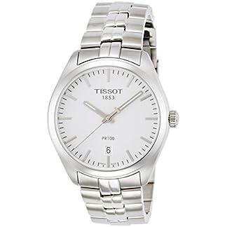 Tissot Reloj Analógico para Hombre de Cuarzo con Correa en Acero Inoxidable T1014101103100