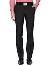 Vettorio Fratini By Shoppers Stop Mens 4 Pocket Check Formal Trousers