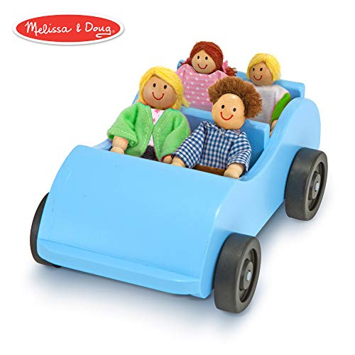 Melissa and Doug Road Trip Wooden Car and Pose-able Passengers by N/A (Road Trip Kostüm)