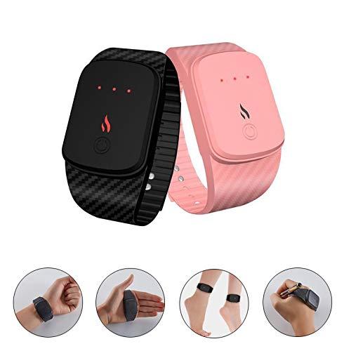 b16970a6b445 ShopSquare64 Ipree 5 W USB Smart Watch, 3 modalità Winter Travel Portable  Braccialetto riscaldante
