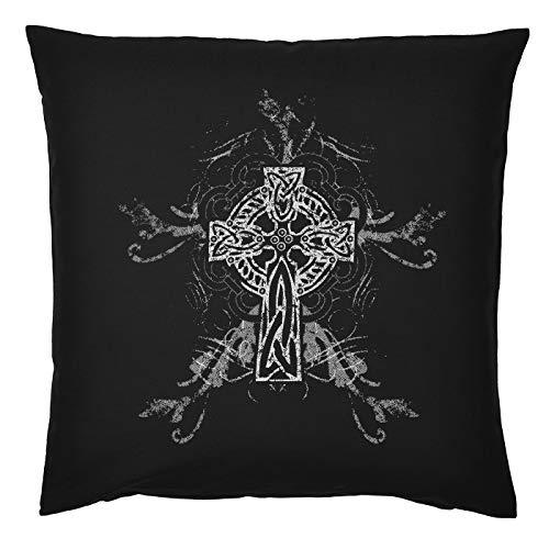 Tini - Shirts Gothic Style Gotik Motiv Kissen Sofakissen: Gothic - Kissen mit Füllung Fb:schwarz