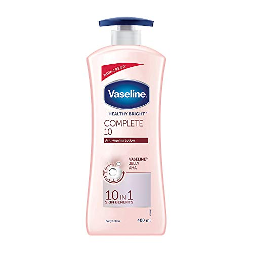 Vaseline Healthy Bright Complete 10 Body Lotion, 400 ml
