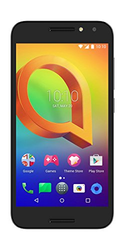 Alcatel A3 Smartphone (Android 7.0, 16GBs), Color Negro