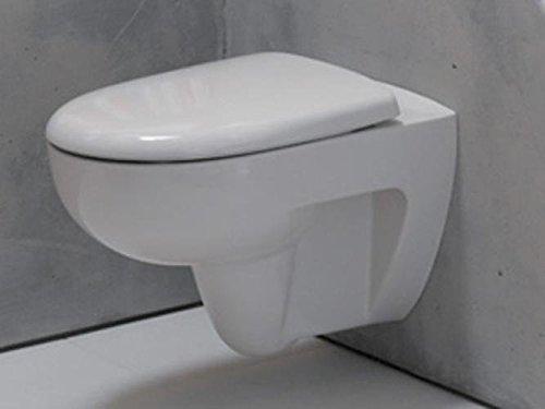 Keramag Renova Tiefspül-Wand-WC Spülrandlos 203050000 inkl. Sitz Absenkautomatik Komplett-Set C02020000