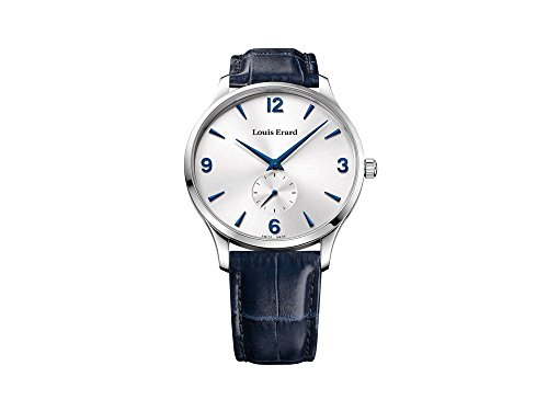 Louis Erard 1931 Automatic Watch, Silver, 40 mm, Small second, 47217AA21.BEP03