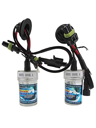 2pcs / Pair 55W 9005 / HB3 / H10 AMPOULE DE REMPLACEMENT CACHÉE Ampoule simple pour moto 3000K / 4300K / 5000K / 6000K / 8000K / 10000K / 12000K