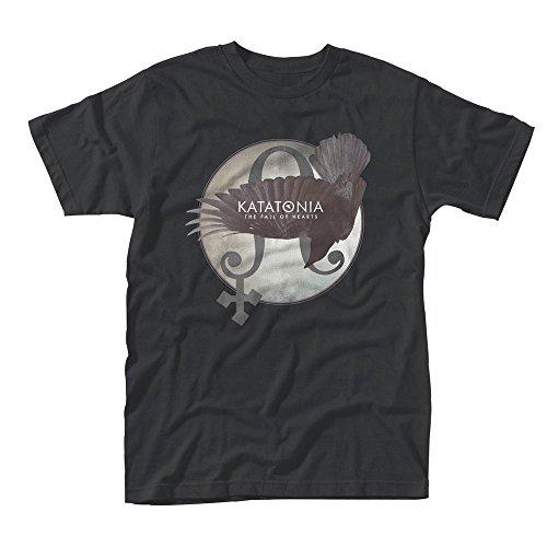 Plastic Head Katatonia Fall of Hearts, T-Shirt Uomo, Nero, XX-Large