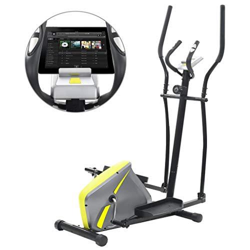 Nishore allenatore ellittico magnetico bicicletta da interno con cardiofrequenzimetro cardiofitness per la casa