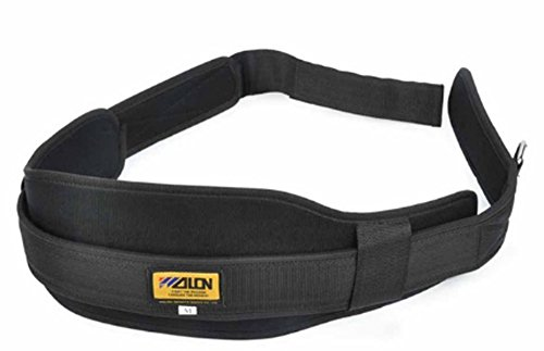 SaySure - Nylon Bodybuilding Weight Lifting Belt Fitness (SIZE : L)
