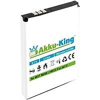 Akku-King Akku für AVM Fritz!Fon MT-F, M2, C4, C5, Motorola MOTOFONE F3 - ersetzt BD50, SNN5796A, 312BAT006 Li-Ion - 750mAh