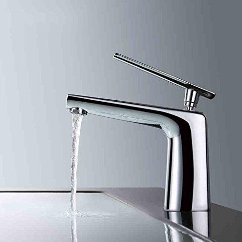 Tous Hot Copper Et Bassin d'eau froide robinet de bain Simple - Bassin de trou Robinetterie toilettes Chrome Robinet Lavabo