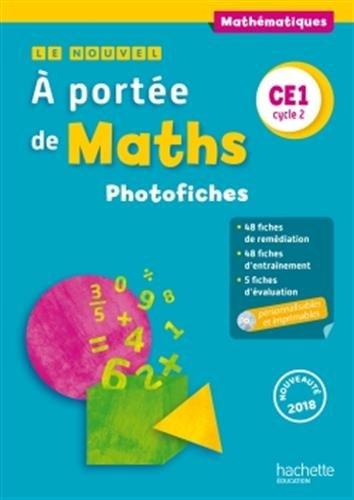 Le Nouvel A portée de maths CE1 - Photofiches + CD - Ed. 2018 par Robert Meunier, Laurence Meunier, Jean-Claude Lucas, Janine Leclec'h - Lucas, Caroline Cohen