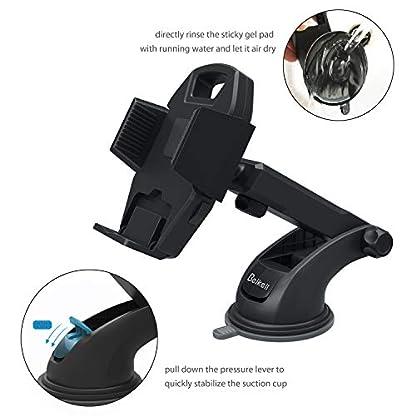 Beikell-KFZ-Halterung-fr-Smartphone-mit-EIN-Tasten-Freigabe-und-stark-haftendem-Gel-Pad-fr-iPhone-X877-Plus6S6S-Plus65S5-C-Samsung-Galaxy-S7S6Note-54-Huawei-und-mehr