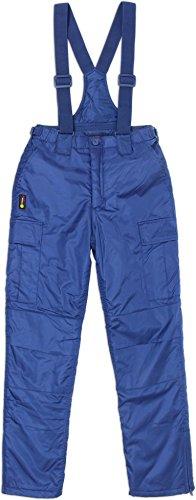 normani 2-1 Damen Winter Thermohose mit abnehmbaren Hosenträgern Farbe Navy Größe XL (Ski Latz Schnee Hose)