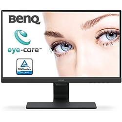 BenQ Eye-Care GW2280, Ecran 21.5 pouces, dalle VA, 2 x HDMI 1.4, Flicker-Free, Low Blue Light, Capteur de luminosité ambiante (B.I.)