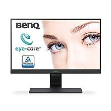 BenQ GW2280 22 Inch 1080p Eye Care LED Monitor, Anti-Glare, Dual HDMI, B.I. Sensor for Home Office - Black